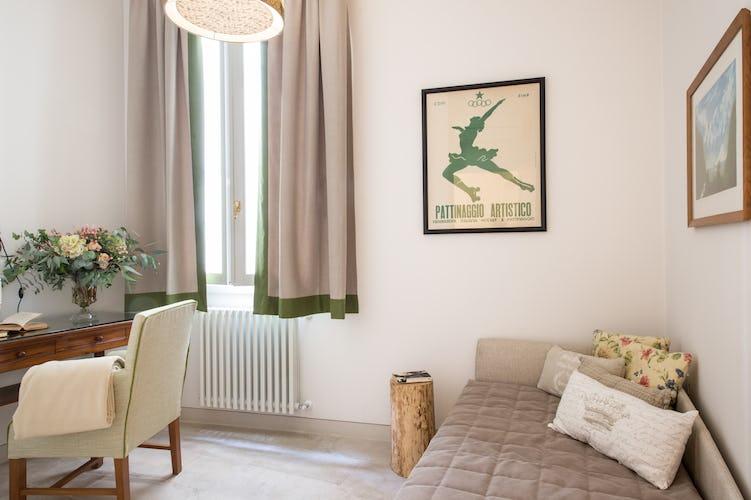 Borgo de Greci appartamenti per vacanze a Firenze: camera singola con internet point