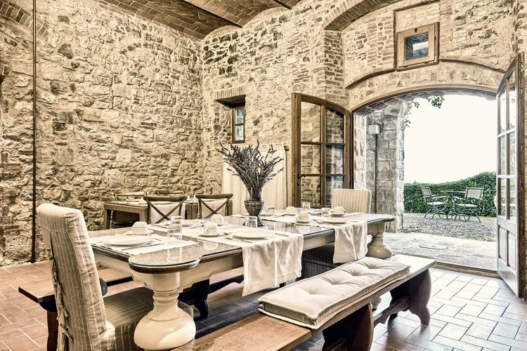 Newly restored, these apartments capture the stone accents