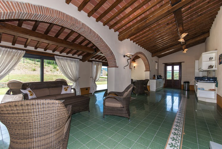 Borgo La Casa in Tuscany, Casa Girasole offers great picture windows