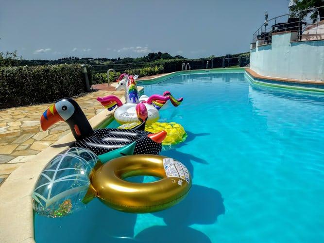 Le due piscine del Borgo sono perfette per il divertimento dei più piccoli ed il relax dei grandi!