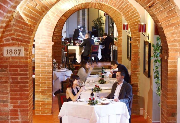 restaurant in old wine cellars