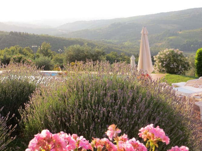 The perfume of Tuscany surrounds you at Borgo Sicelle