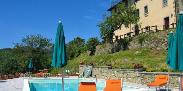 Borgo Tramonte Farmhouse in Casentino with Pool