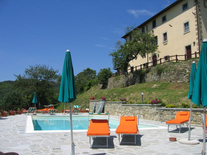 Farmhouse Borgo Tramonte swimming pool