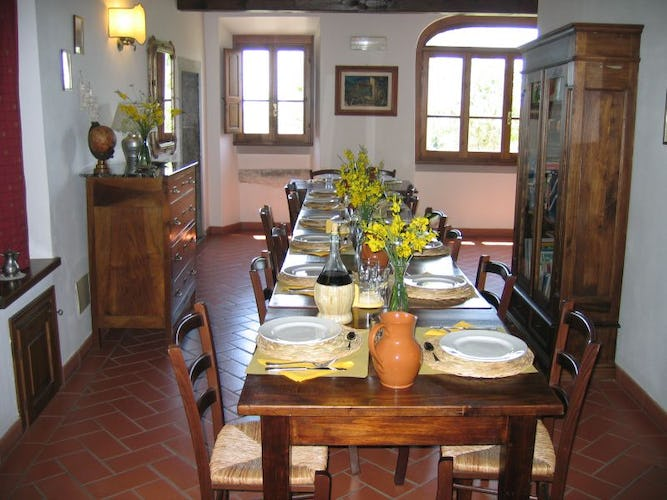 Borgo Tramonte Farmhouse Dining Room