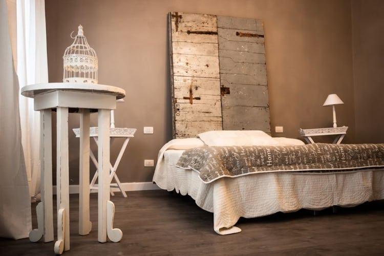 The stylish Vaniglia room