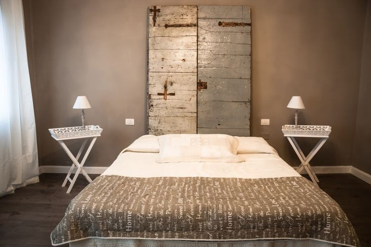 Vaniglia room and its vintage look