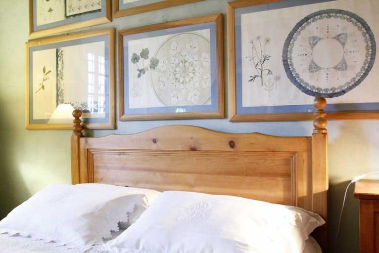 Pezzi d'arte unici ed originali che arredano le camere della casa