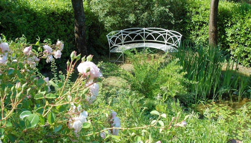 Il giadino, il fiore all'occhiello della casa di Candida