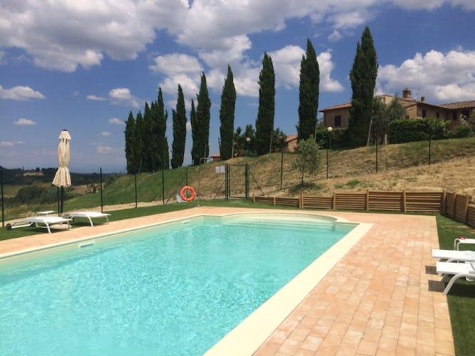 Agriturismo Casa dei Girasoli - La piscina, la novità più recente dell'agriturismo