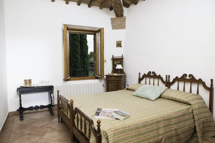 Agriturismo Casa dei Girasoli - I lettini possono essere uniti su richiesta e le finestre sono dotate di zanzariere