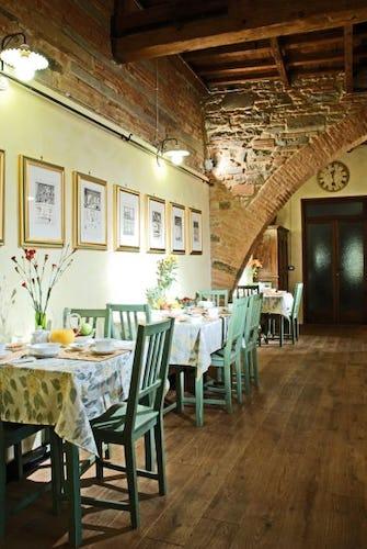 The green room - Casa dei Tintori b&b in Florence