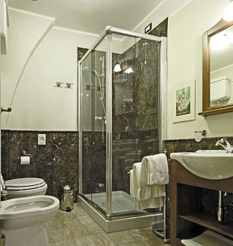 bathroom at Casa dei Tintori