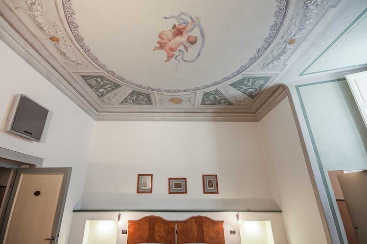 Casa Rovai B&B and Guest House - A special surprise during the restoration, frescos from the 16th & 18th century