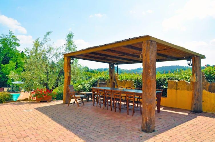 Casa Vacanze Soleado has the best picnic spot in Tuscany