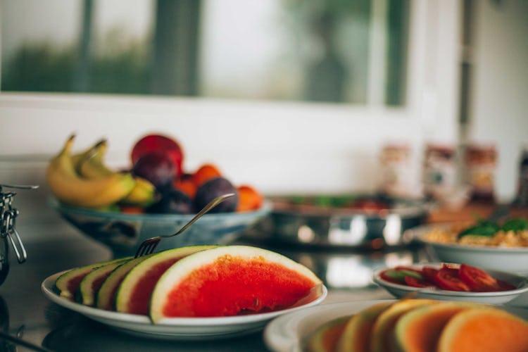 Casale Cardini - A rich breakfast buffet