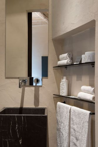 Ogni camera ha il bagno privato