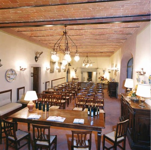 Large meeting room available for tastings, events and parties