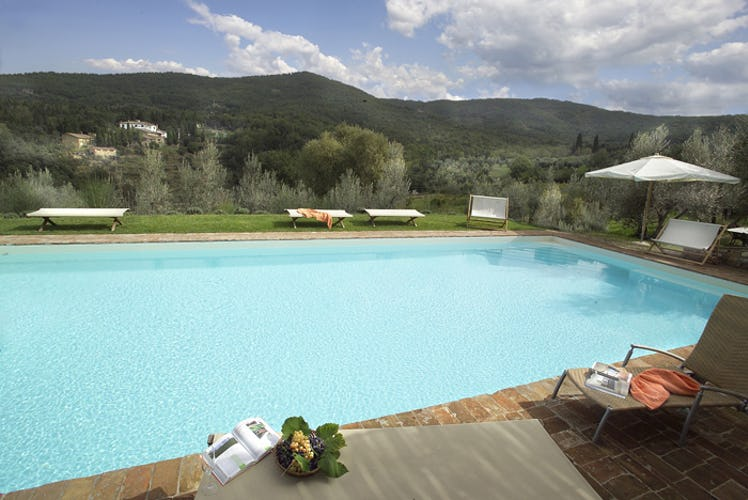 Relax and enjoy the Chianti panorama from the refreshing pool
