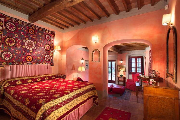 Charming decor at Tuscany Apartments Chianti Suites