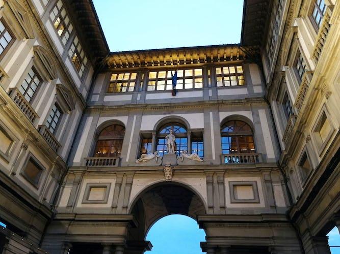 Gli Uffizi, uno dei musei più famosi e visitati al mondo