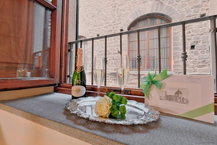 Appartamento con vista sugli edifici storici di Firenze
