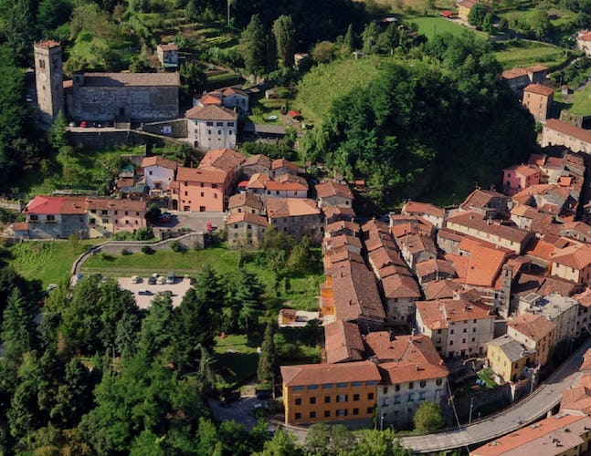 Eliseo B&B - Aerial View in the Garfagnana