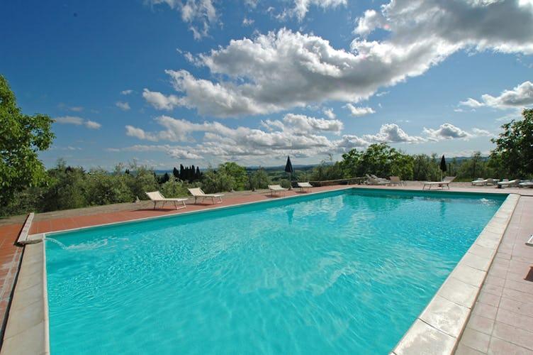 Chianti Accommodation with Pool at Catignano