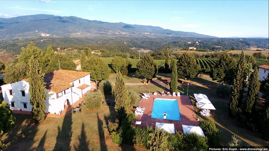 Fattoria Pagnana: close to all the fun sites in Tuscany
