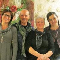 Giovanna e la sua famiglia, proprietari di Giovanna Vacanze