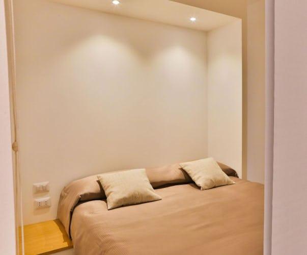 Il Deluxe 3 ha una camera da letto ed un divano letto singolo