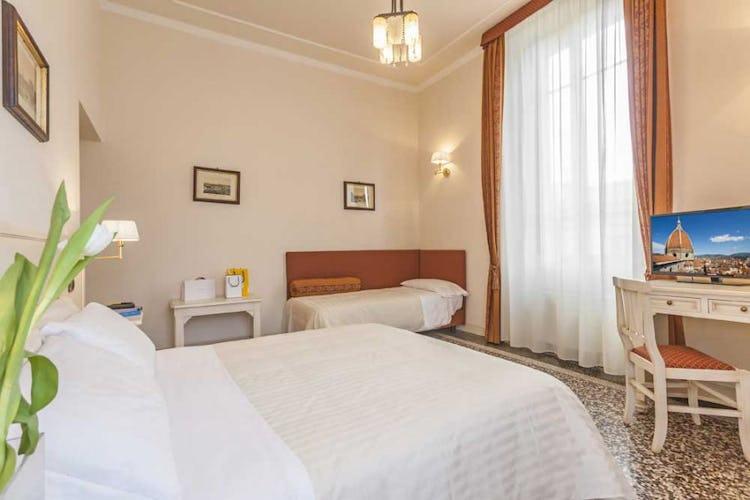 Le camere Classic sono arredate in in stile classico-tradizionale