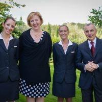 Lo staff dell'Hotel Le Fontanelle