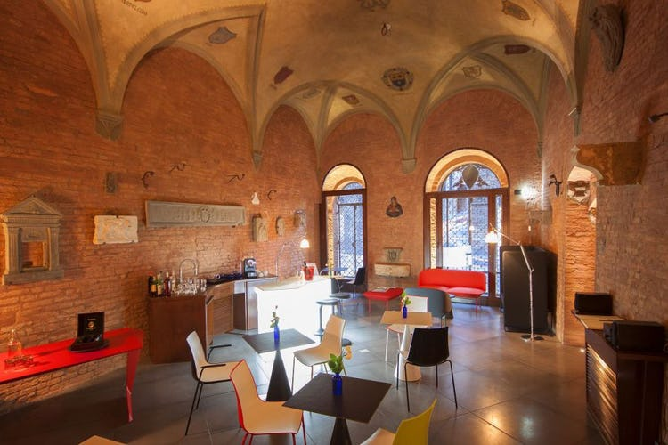 Historic building in Siena for Palazzetto Rosso