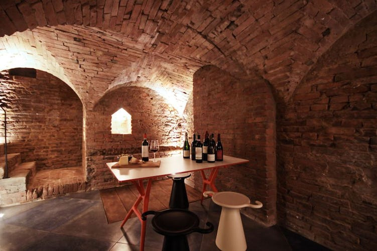 Ask about a wine tasting in the cellar of Palazzetto Rosso
