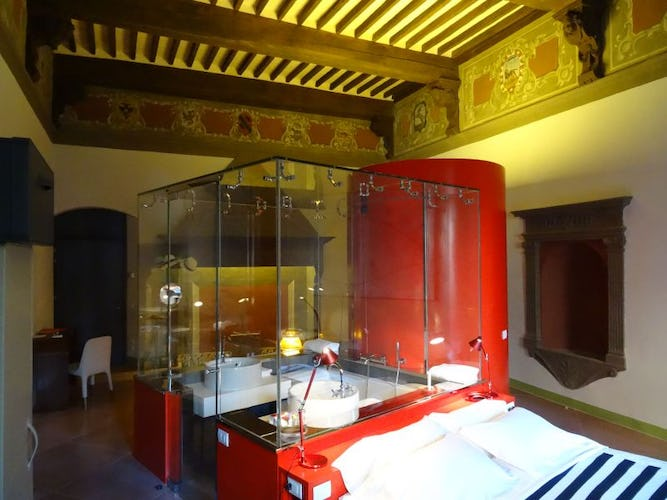 Creative design ideas for space at Palazzetto Rosso