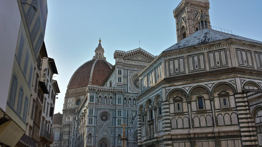 An impressive view of the Florence Duomo from Hotel Perseo