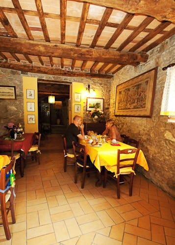 Sala Colazioni Agriturismo I Cerretelli in Toscana