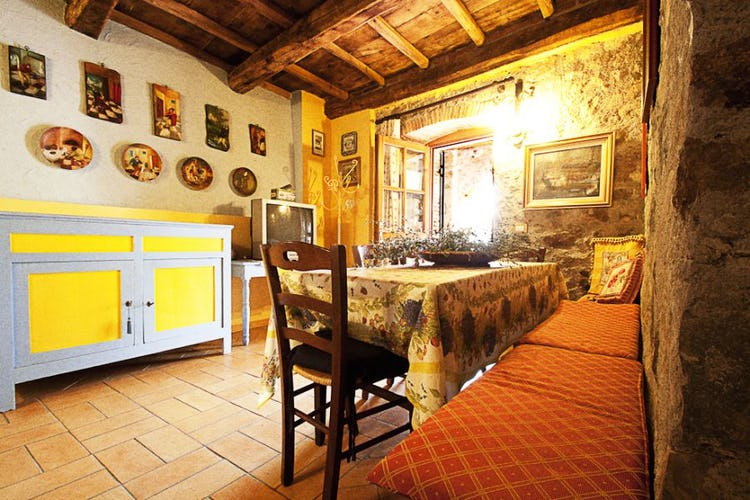 Common Area at I Cerretelli Tuscany Farmhouse