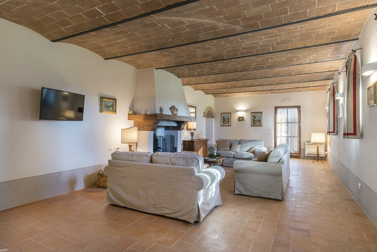 I Cipressini Villa Rental near Pienza