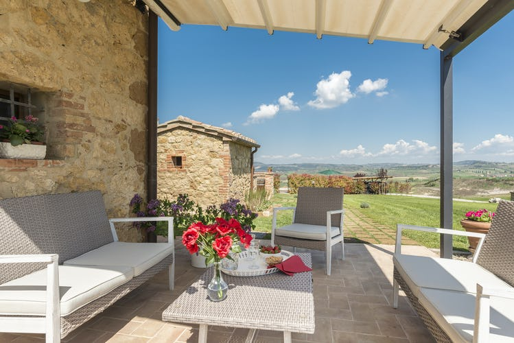 Villa I Cipressini: le terrazze panoramiche