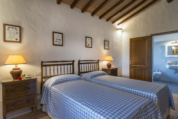 I Cipressini Villa Rental comfortable bedrooms