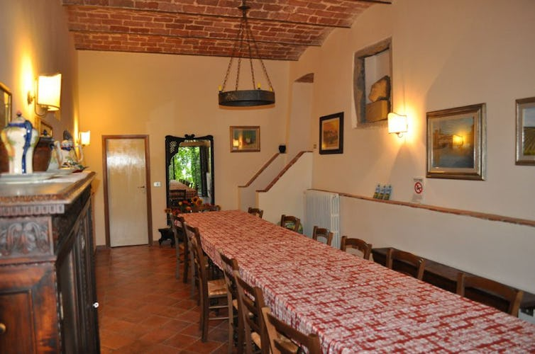 Tuscany farmhouse, common area