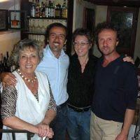 Sandra, Riccardo, Nicola & the Mamma at Il Borghetto