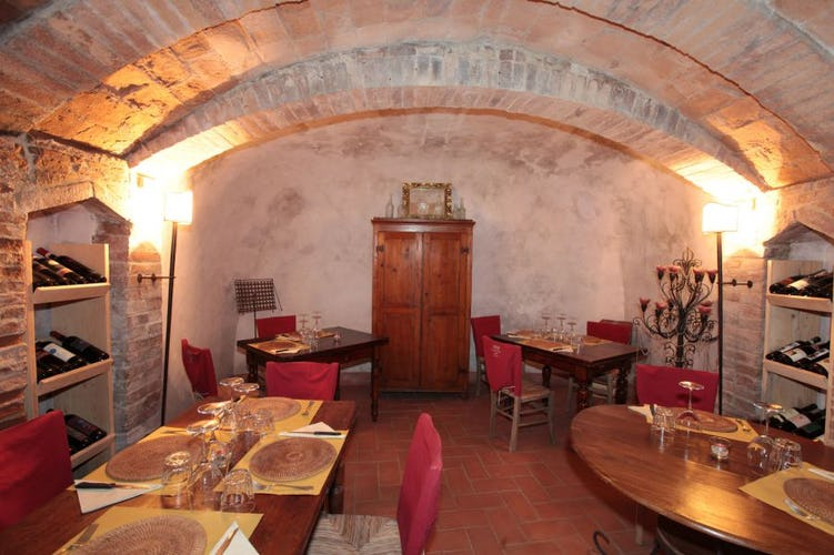 Weekly events include come cooked meals at the il Borghetto restaurant