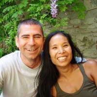 Edo e Celia, proprietari de Il Giglio d'Oro