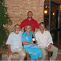 The Parigi Family, owners of Il Greppo