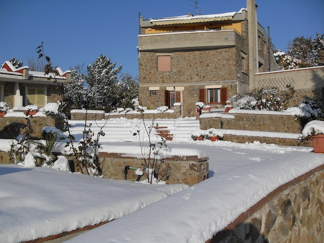Il Nido Toscano - Under a blanket of snow