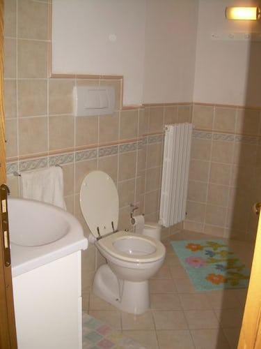 Il bagno dell'appartamento