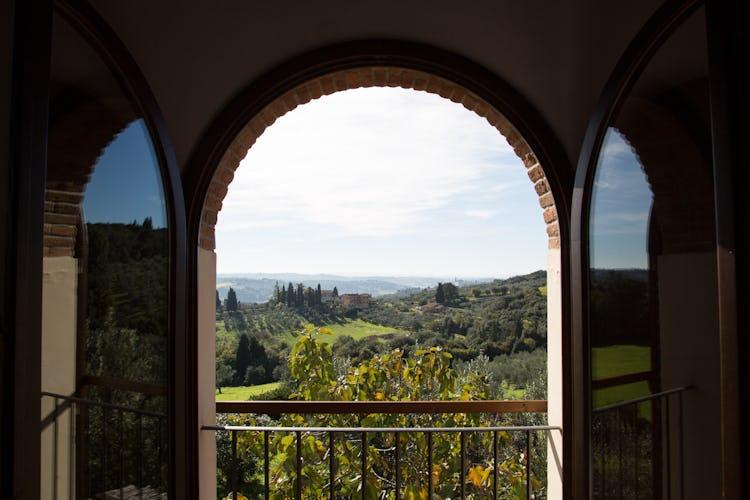 La Canigiana Chianti Rental Apartments with panoramic view